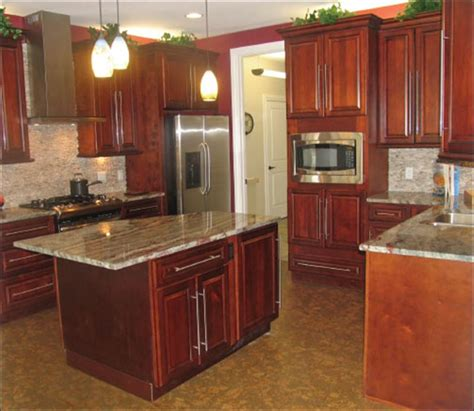 maroon kitchen cabinets quicua