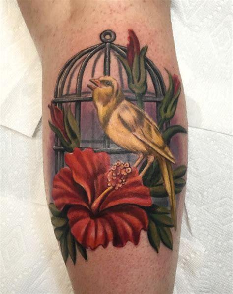 canary tattoo ilczyszyn artist mandala tattoos flower