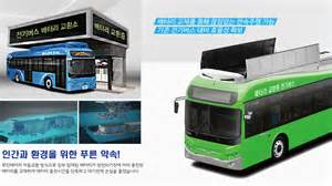 Electric Vehicles Battery Swapping Jeju Introduces Electric Buses With Swapping Battery Kojects