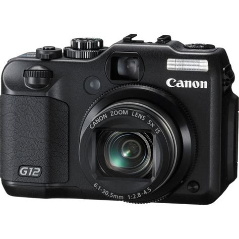 Canon Powershot G12 used canon powershot g12 digital 4342b001 b h photo