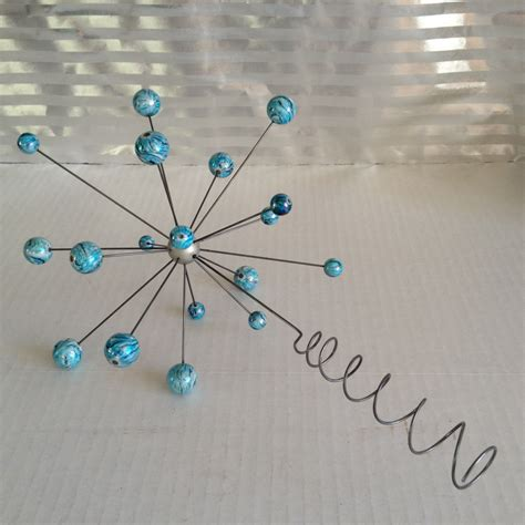 Molecule Decorations by Popular Items For Modern Ornaments On Etsy Atomic