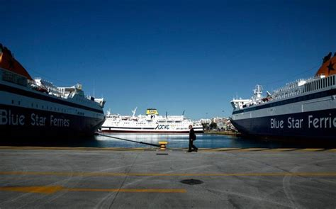 ferry efka two day strike to keep greek ferries at anchor news