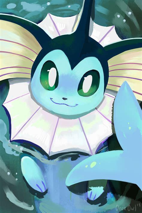 eeveelution paintings   orcaowl cool pokemon