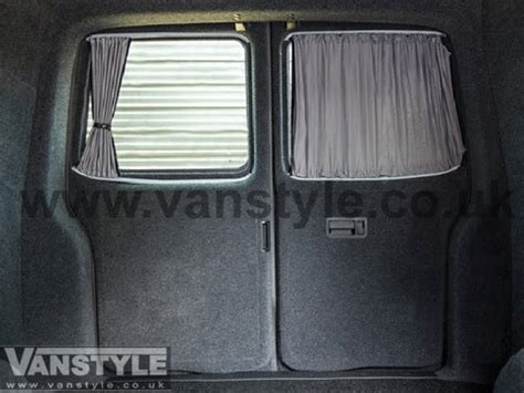 van window curtains vw t5 t6 tailored curtain set swb twin door full window