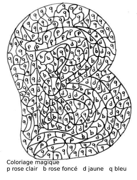 Coloriage Magique Lettres Cp L