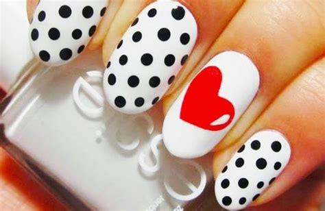 imagenes de uñas decoradas con corazones 2015 u 209 as u 241 as decoradas dise 241 os con corazones mizancudito com