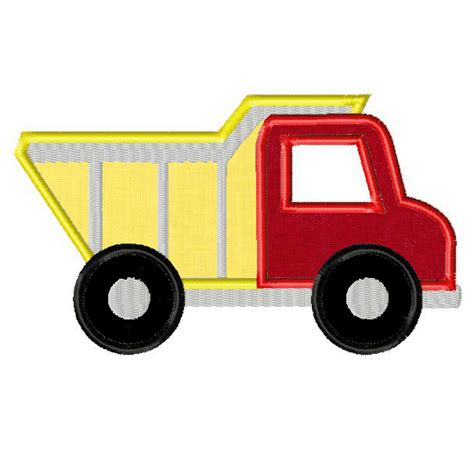 Dump Truck Applique Dump Truck by Gold Member Freebie Dump Truck Includes Both Applique And