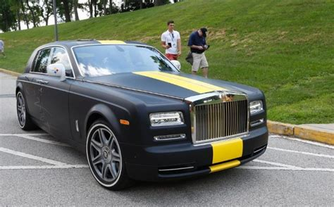 roll royce brown 10 nfl players who arrived to c in rides