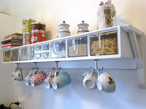 reuse retro kitchen shelf handcraft by grip