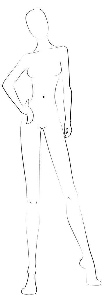 Fashion Templates 33 Free Designs Inspiration Jpg Format Download Freebiesland Costume Design Template