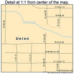 union oregon map 4175850