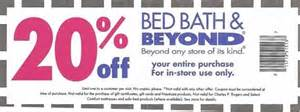 bed bath and beyond coupons print 2013