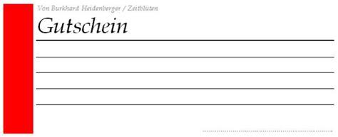 Gutschein Vorlagen Muster Kostenlose Gutschein Vorlage Schenken Sie Freude Zeitbl 252 Ten