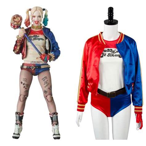 aliexpress buy batman harley quinn squad jaket t shirt shorts wig belt anime
