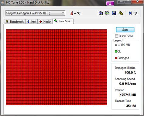 Harddisk Bad Sector windows bad sectors in external hdd user