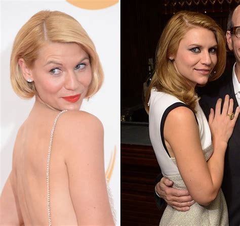claire danes red hair claire danes red hair star shows off hair makeover in