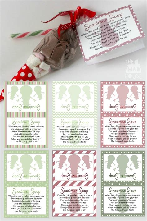 free printable reindeer hot chocolate snowman soup and free printable labels mum in the madhouse