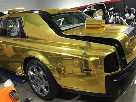 rolls royce phantom gold rolls royce phantom custom gold www imgkid com the