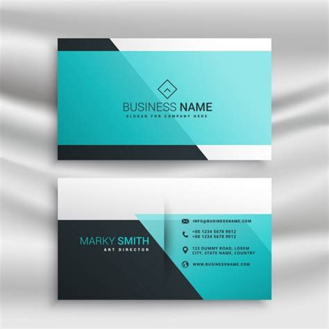 business card shapes templates business card template with abstract shapes vector