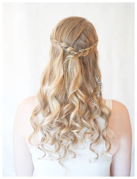 how to do down hairstyles hair and fashion make inside out half up braid