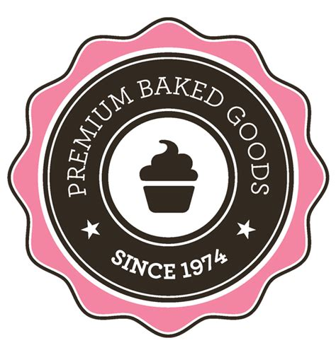 free vector bakery logos and label vector graphic