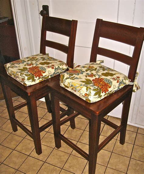 kitchen chair cusions our crafty home kitchen chair cushions