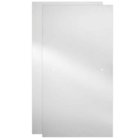 bathtub glass panels delta 60 in sliding bathtub door glass panels in clear 1