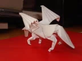 Origami Pegasus Diagram - origami pegasus tutorial satoshi kamiya part 1 5 doovi