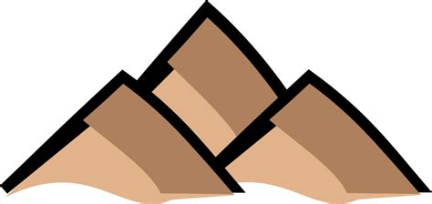 mountain clipart clipart mountain map symbol