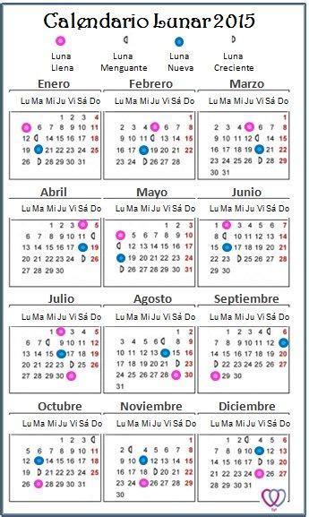 2015 calendario lunar nicaragua calend 225 rio lunar 2015 para impress 227 o vest decor