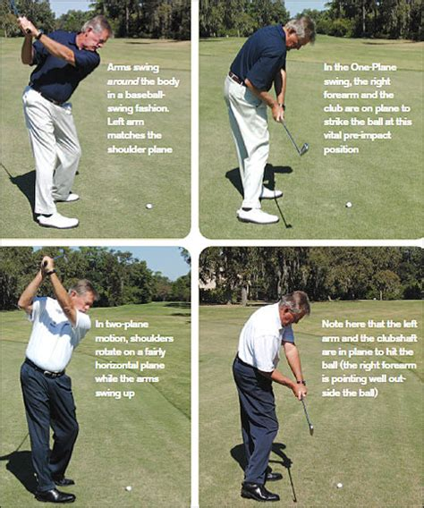 one plane vs two plane golf swing one two plane golf swings a rough guide