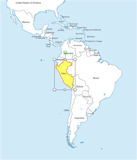 south america map and countries cartes am 233 rique du sud