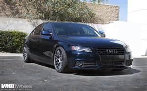 Audi A4 B8 Wheels Vmr Wheels 19 Quot Gunmetal On Sea Blue Pearl B8 Audi A4