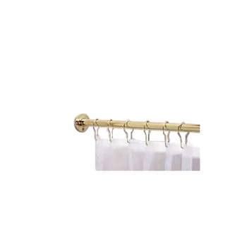 longest shower curtain rod brass shower curtain rod 5 feet long