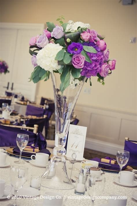 table flower centerpieces purple centerpieces flower for wedding table decoration
