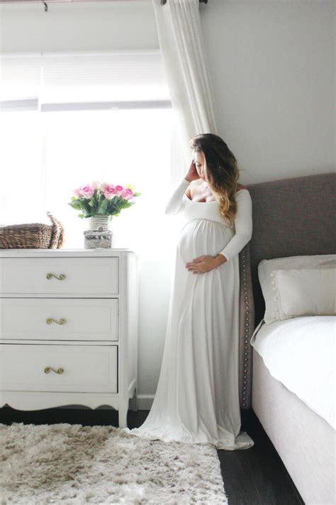 Pregnancy Dress For Baby Shower by Sleeve Maternity Gown Baby Shower Maternity Dress