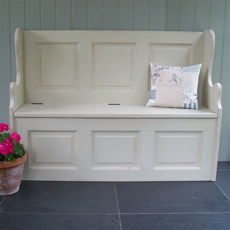 painted monks bench three seater monks bench hand painted in any colour by
