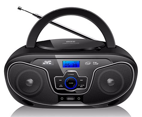 cassette cd player jvc rd n327 bluetooth portable radio and cd player with