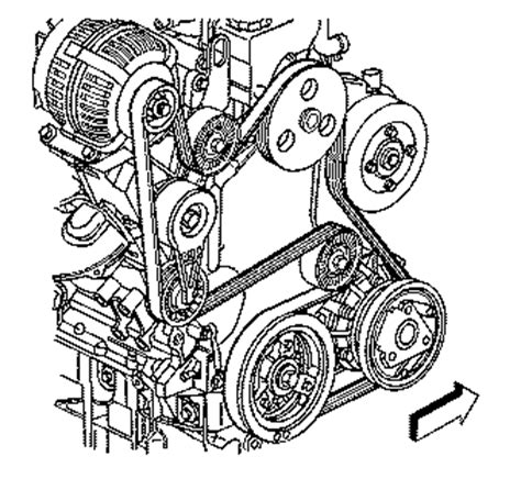 3400 or 3.4l v6 engine belt pictures and routing diagrams