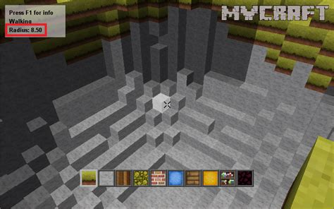 mycraft  altering  radius tutorial mod db