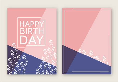 free card free happy birthday card vector free vector