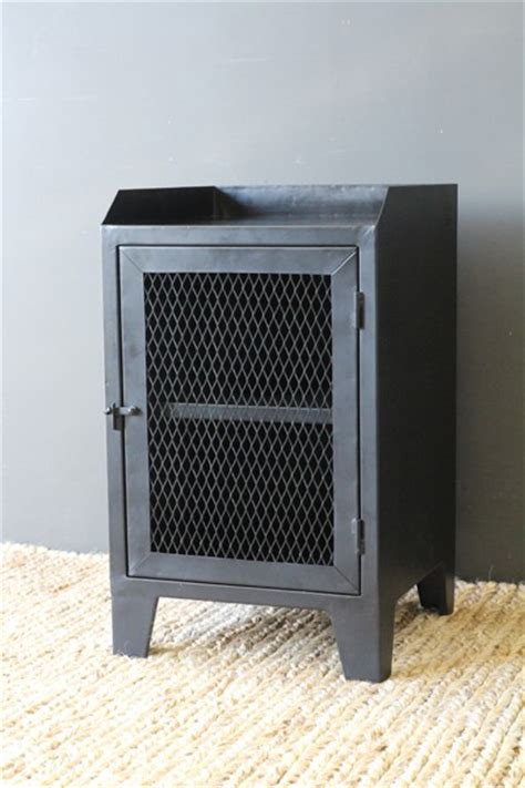 Industrial Bedside L industrial bedside table from rockett st george
