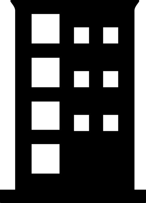 office building svg png icon