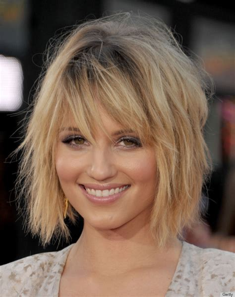 short haircuts to make hair look thicker hairstyles that make your face look fuller