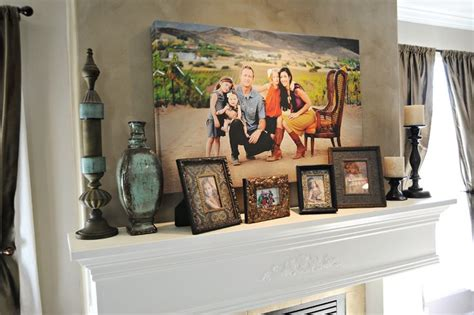 decorating with portraits at peekaboo photography