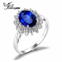 Blue Safir Sapphire 5 5ct aliexpress buy kate princess diana william 2 5ct
