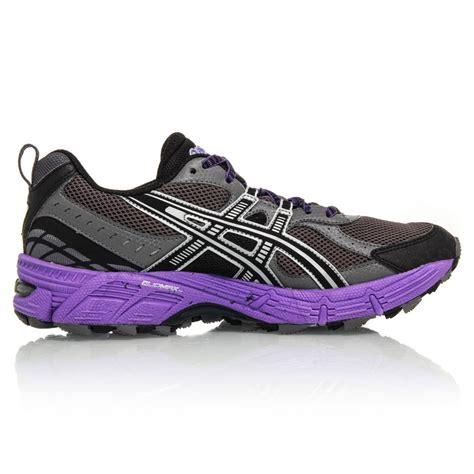 black and purple asics running shoes asics gel kahana 6 womens trail running shoes grey