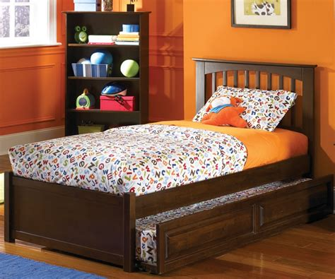 double trundle bed bedroom furniture atlantic furniture brooklyn model full size trundle beds kids bedroom furniture