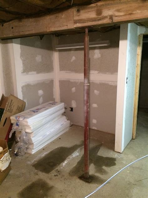 How To Remove A Wall Load Bearing Or Not And Install A Basement Support Columns