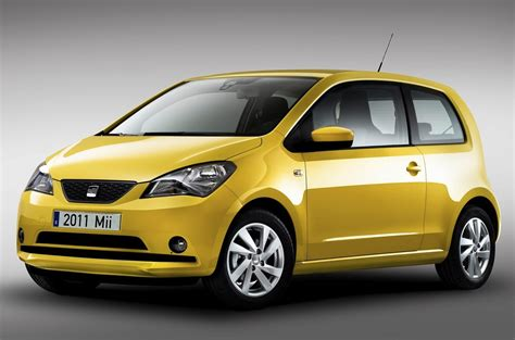 subcompact cars 2012 seat mii subcompact car based on volkswagen up